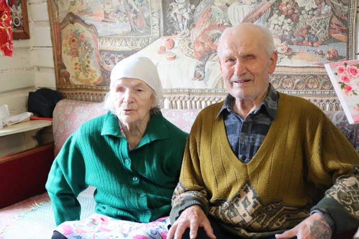 """Семья из Южи отметила """"железную"""" свадьбу."""