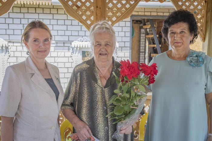 Жительница Южи отметила 90-летний юбилей