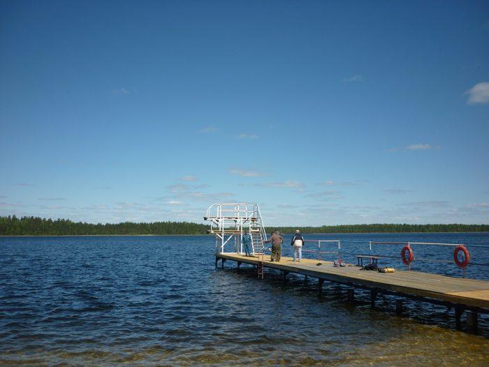 Стали известны подробности происшествия на озере Святое Южского района