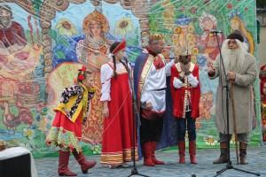В селе Холуй прошла Тихвинская ярмарка