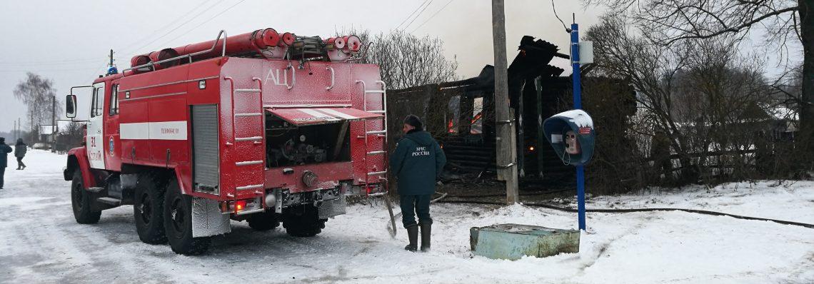 Пожар в Селищах Южского района привел к трагедии