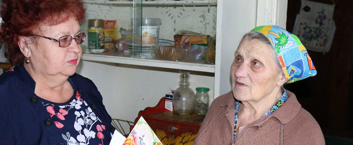 Сегодня 90 лет исполнилось жительнице города Южи