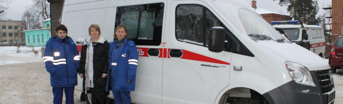 В Южскую ЦРБ поступил новый автомобиль скорой помощи