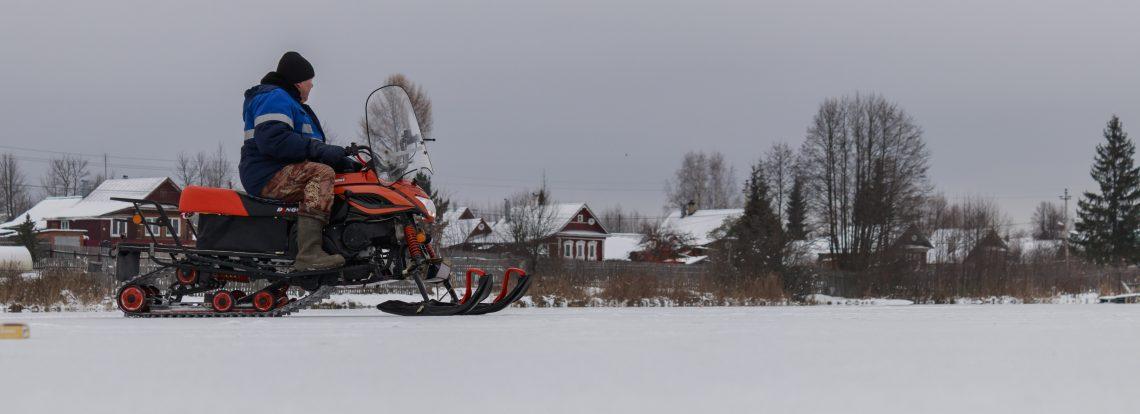 В Южском районе проходит профилактическая акция «Снегоход»