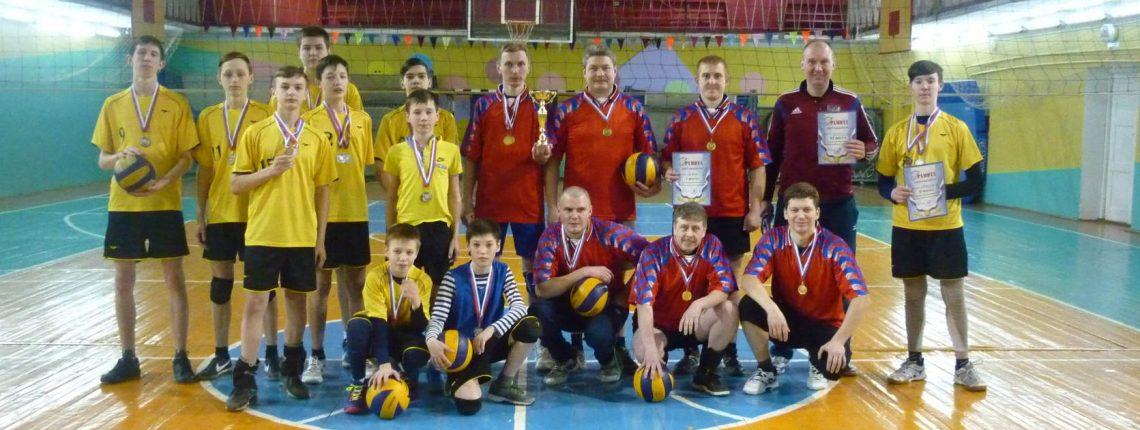 Южские волейболисты стали победителями в первенстве Южского района