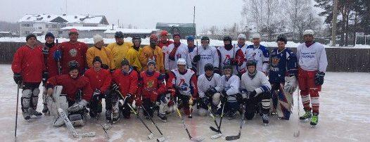 Хоккеисты из села Талицы одержали победу