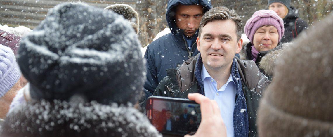 Станислав Воскресенский встретился с жителями села Холуй