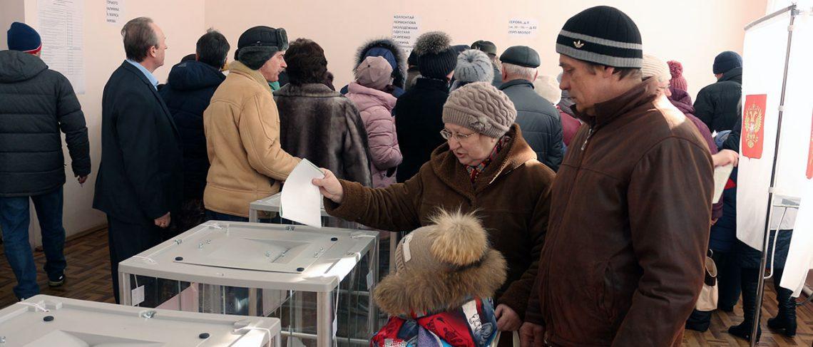 В Юже проходят выборы Президента Российской Федерации (ФОТОРЕПОРТАЖ)