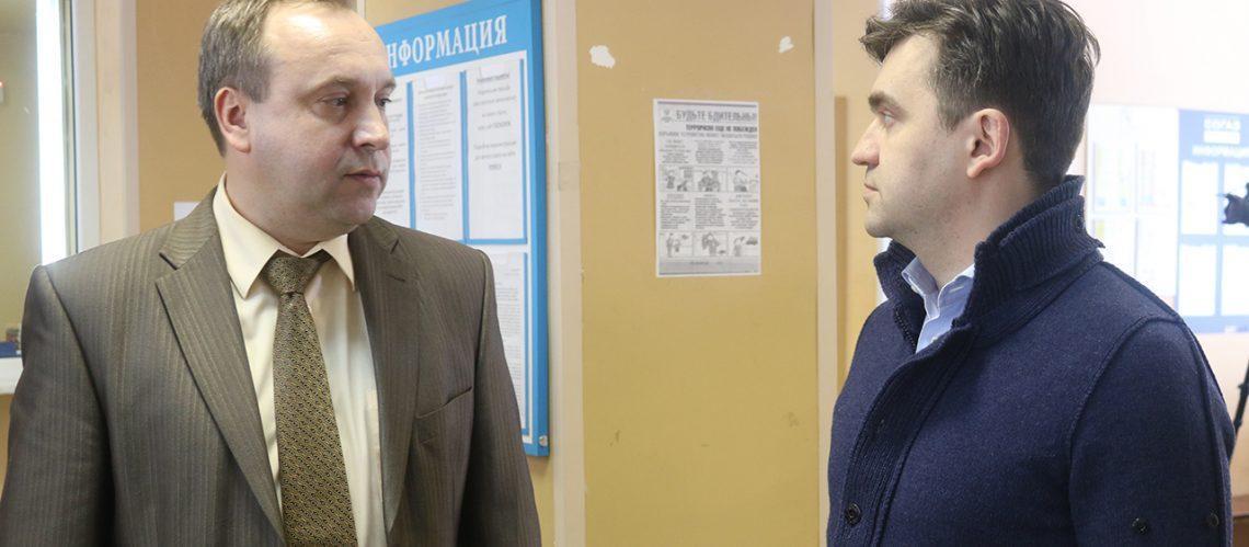 Станислав Воскресенский посетил Южскую ЦРБ