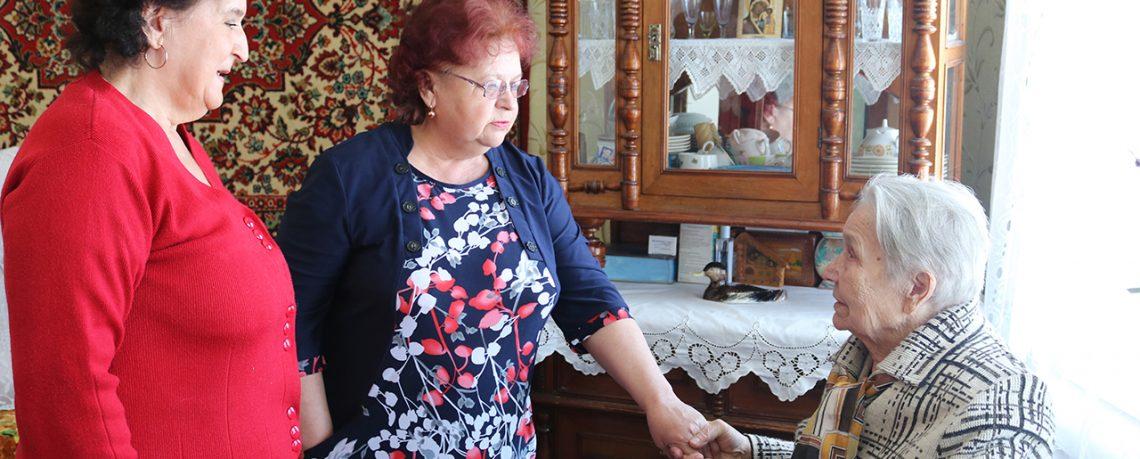 Жительницу Южи поздравили с 90-летним юбилеем