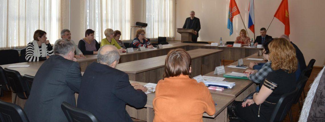 Глава Южского района Владимир Мальцев выступил с отчетом о проделанной работе администрации района за прошедший 2017 год