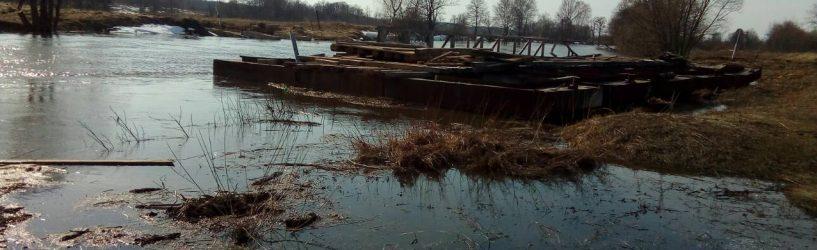 В Емельяново открылась лодочная переправа