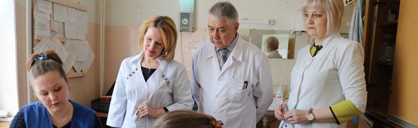Депутаты посетили  «скорую помощь» Южской ЦРБ