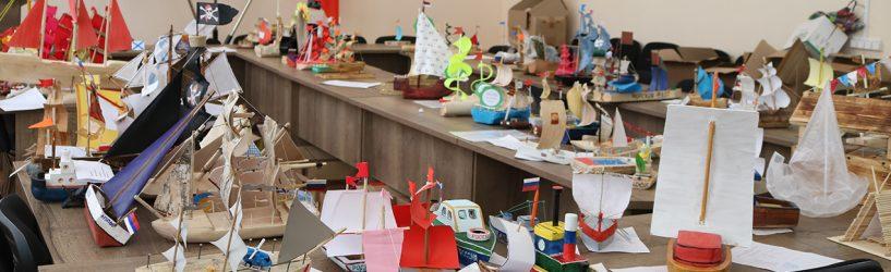 В Южском районе подведены итоги конкурса моделей лодок