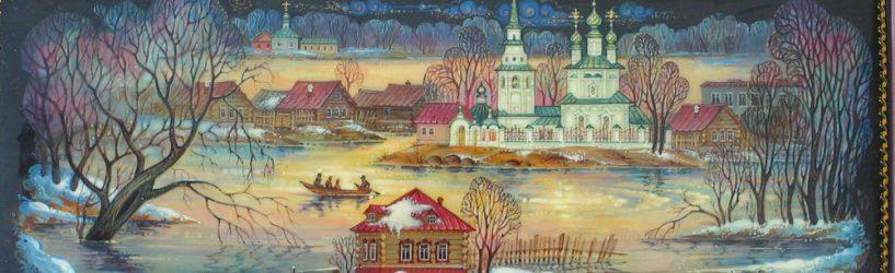 В акции по росписи лодок в селе Холуй Южского района примут участие молодые художники из Москвы, Иванова и Южи