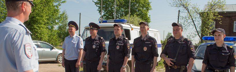 Полицейские и гвардейцы в Юже прошли единый инструктаж