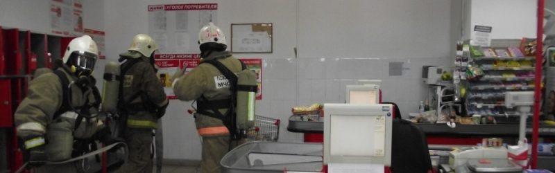 В Юже прошли пожарно-тактические занятия на объектах с массовым пребыванием людей