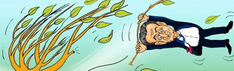 Ветер в Юже срывал ветви с деревьев