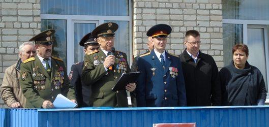 Войсковой части №7433 села Талицы исполнилось сто лет