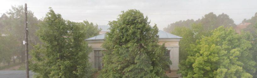 Сегодня синоптики прогнозируют в Ивановской области дождь, грозу и град