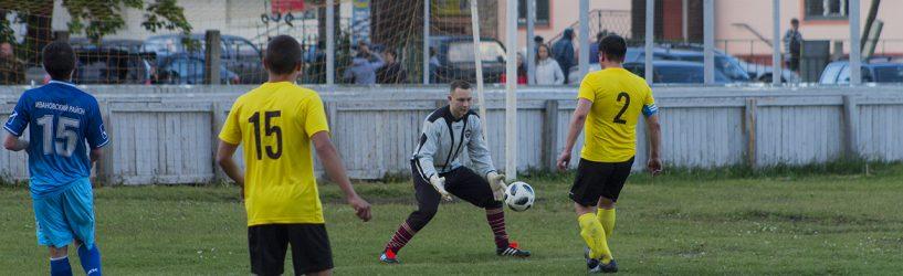 Южские футболисты играют в первой лиге (ФОТО)