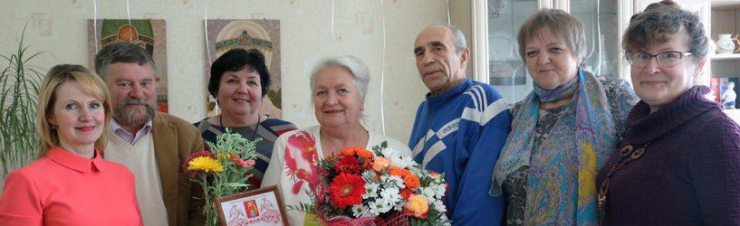 Почётного гражданина Южского района поздравили с юбилеем