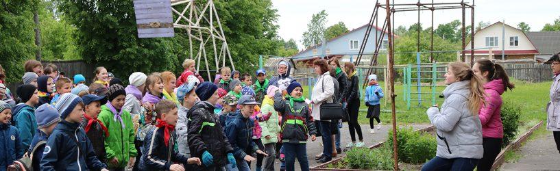 В Юже открылись детские лагеря