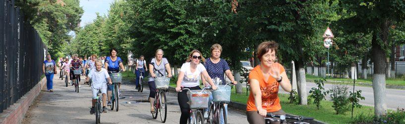 Южане приняли участие в велопробеге