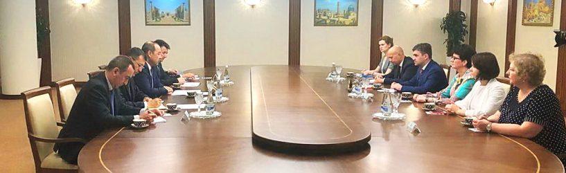 Состоялась встреча губернатора Ивановской области с премьер-министром Республики Узбекистан