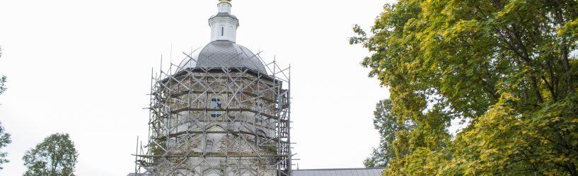 В селе Лучкино возрождается храм