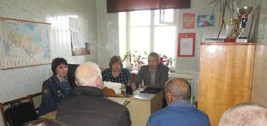 В селе Талицы для осужденных проведены информационные встречи