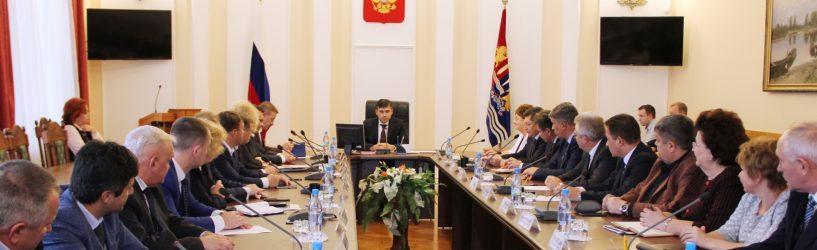Губернатор Станислав Воскресенский обозначил первоочередные совместные задачи региональных властей и глав муниципалитетов