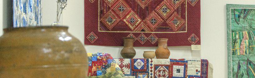 «Лоскутная мозаика» из Иваново на месяц «поселилась» в Южском доме ремесел (ФОТО)