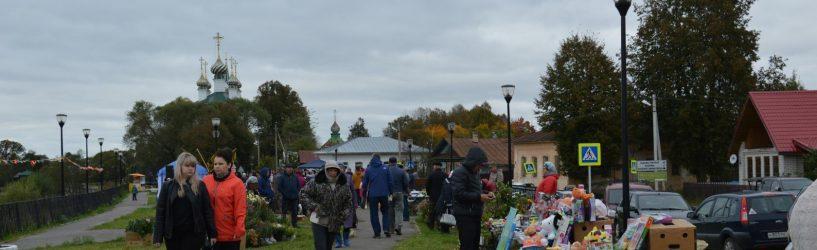 В субботу в селе Холуй прошла первая сельскохозяйственная ярмарка