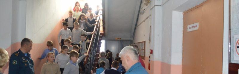 В школе №2 г.Южи прошла учебная эвакуация