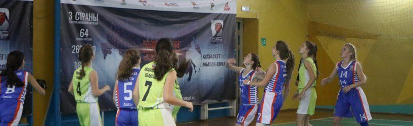 В Юже проходят первые состязания «КЭС- Баскет»