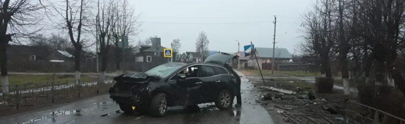 В Юже произошло два дорожно-транспортных происшествия