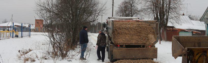 В Юже идут работы по благоустройству дорог