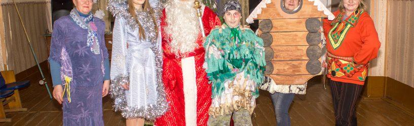 Новогодние праздники в Хотимле