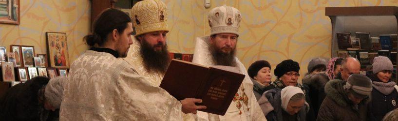 Епископ служил в Южском храме