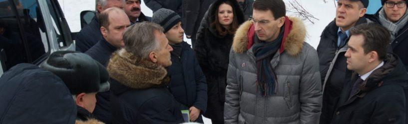 Ивановскую область с рабочим визитом посетил полномочный представитель Президента России в ЦФО
