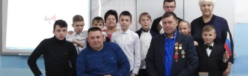 Школьники из села Мугреево-Никольского встретились с солдатами