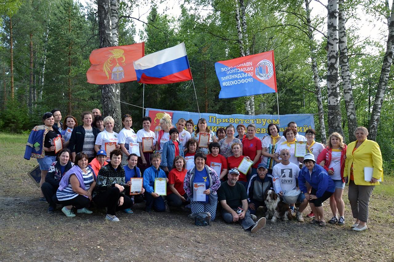 Озеро Ламненское собрало педагогов на туристический слет