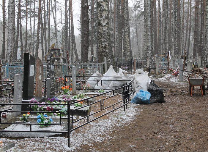 Кладбища для посещения закрыты
