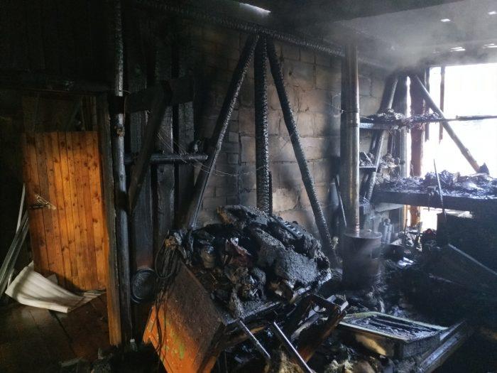 В Южском районе за сутки произошли два пожара